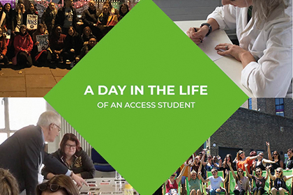 A Day In The Life Of An Access Student