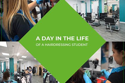 A Day In The Life Of A Hairdressing Student