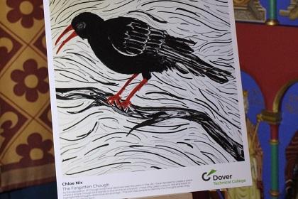 Students' Dover Castle exhibition commemorates bird's Kent return