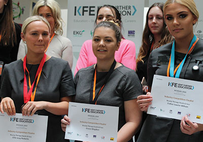 Student wins KFE4Skills (Hand and Face Category)